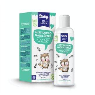 Baby EcoLogica, Mistrzunio nawilżenia, olejek kojący do masażu, 150 ml KRÓTKA DATA - zdjęcie produktu