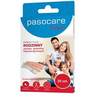 Plastry Pasocare, Family Plus, 20 sztuk - zdjęcie produktu