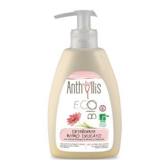 Anthyllis EcoBio, płyn do higieny intymnej z ekstraktem z borówki i nagietka, ekologiczny, 300 ml - zdjęcie produktu