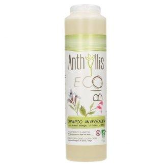 Anthyllis EcoBio, szampon przeciwłupieżowy do częstego mycia z wyciągiem z szałwii i pokrzywy, 250 ml - zdjęcie produktu