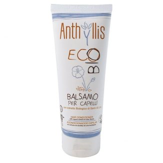 Anthyllis EcoBio, odżywka do włosów z ekstraktem z lnu i Proteinami ryżu, 200 ml - zdjęcie produktu