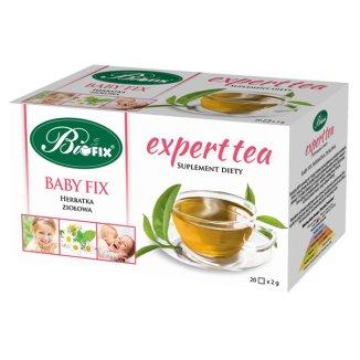 Bi Fix, Expert Tea Baby Fix, herbata dla dzieci, powyżej 3. roku życia, 20 saszetek - zdjęcie produktu
