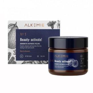 Alkemie Anti Age, Beauty activate, peeling biomimetyczny do twarzy, enzymatyczny, 60 ml - zdjęcie produktu