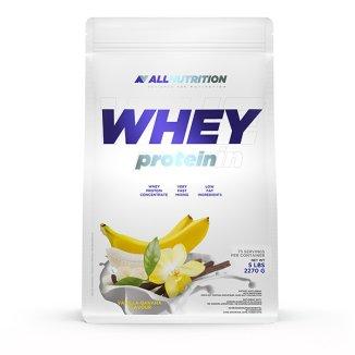 Allnutrition Whey Protein, białko, smak waniliowo-bananowy, 2270 g - zdjęcie produktu