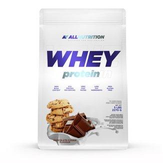 Allnutrition Whey Protein, smak czekoladowo-ciasteczkowy, 2270 g - zdjęcie produktu