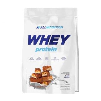 Allnutrition Whey Protein, białko, smak czekoladowo-orzechowo-karmelowy, 2270 g - zdjęcie produktu