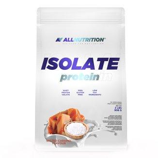Allnutrition Isolate Protein, białko, smak słony karmel, 908 g - zdjęcie produktu