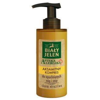 Biały Jeleń Apteka Alergika, aksamitny kompres do opuchniętych nóg i stóp, 150 ml - zdjęcie produktu