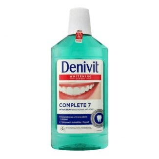 DENIVIT, płyn do płukania jamy ustnej, Whitenig Expert, Complete 7, 500 ml - zdjęcie produktu