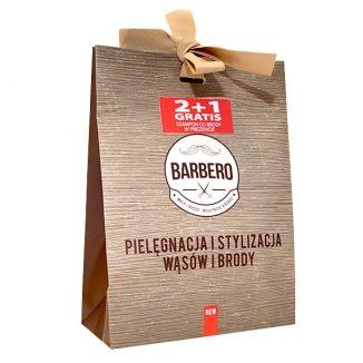 Barbero, olejek nawilżający do brody, 50 ml + wosk stylizujący, 40 g + szampon do brody w prezencie - zdjęcie produktu