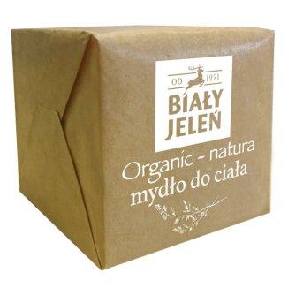 Biały Jeleń Organic-Natura, mydło do ciała, 170 g - zdjęcie produktu