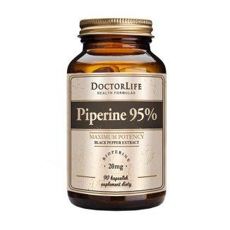 Doctor Life, Piperine 95%, 90 kapsułek - zdjęcie produktu