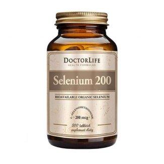 Doctor Life, Selenium 200 µg, Selen, 200 tabletek - zdjęcie produktu