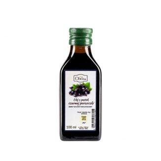 OlVita, olej z pestek czarnej porzeczki zimno tłoczony, nieoczyszczony, 100 ml - zdjęcie produktu