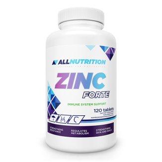 Allnutrition Zinc Forte, cynk 25 µg, 120 tabletek - zdjęcie produktu