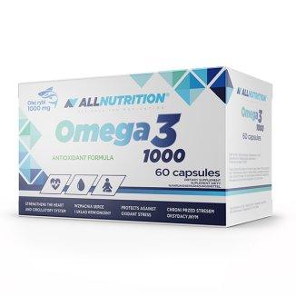 Allnutrition, Omega 3 1000 mg, 60 kapsułek - zdjęcie produktu
