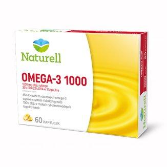 Naturell Omega-3 1000, 60 kapsułek - zdjęcie produktu