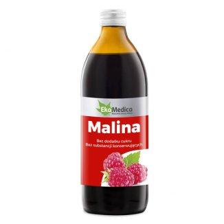 EkaMedica Malina, sok, 500 ml - zdjęcie produktu