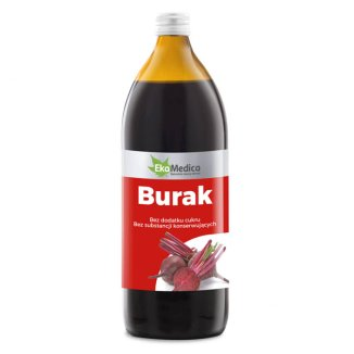 Burak, sok, EkaMedica, 1000 ml - zdjęcie produktu