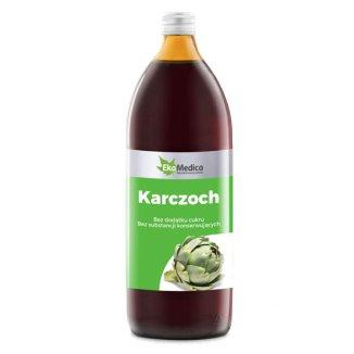 EkaMedica Karczoch, sok, 1000 ml - zdjęcie produktu