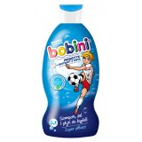 Bobini 3w1, szampon, żel i płyn do kąpieli, powyżej 1 roku, Super Piłkarz, 330 ml - miniaturka zdjęcia produktu