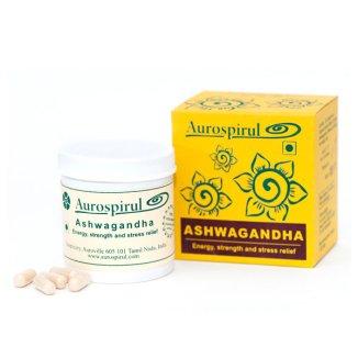 Aurospirul, Ashwagandha 400 mg, 100 kapsułek - zdjęcie produktu