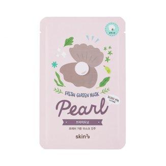 Skin79, Fresh Garden Pearl, maska z ekstraktem z pereł w płacie, 23 g - zdjęcie produktu
