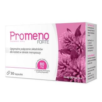 Deep Pharma Promeno Forte, 30 kapsułek - zdjęcie produktu