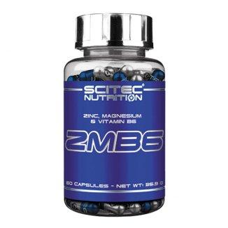 Scitec ZMB6, cynk, magnez i witamina B6, 60 kapsułek - zdjęcie produktu