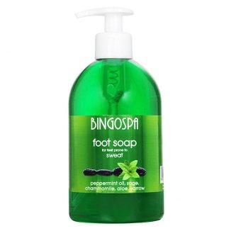 Bingospa, mydło do stóp ze skłonnością do pocenia się, 500 ml - zdjęcie produktu