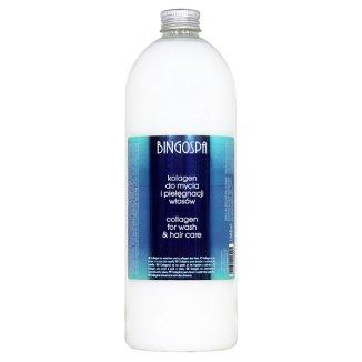 Bingospa, kolagen do mycia i pielęgnacji włosów, 1 L - zdjęcie produktu