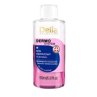 Delia Dermo System, płyn dwufazowy hipoalergiczny, 150 ml - zdjęcie produktu