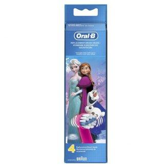 Oral-B, końcówki wymienne do szczoteczki elektrycznej, Stages Power, Frozen, EB10-4, 4 końcówki - zdjęcie produktu
