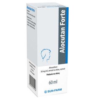 Alocutan Forte 50 mg/ ml, aerozol na skórę, 60 ml - zdjęcie produktu