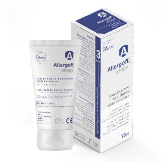 Allergoff Atopy, powlekająco barierowy krem do ciała, 75 ml - zdjęcie produktu