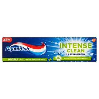 Aquafresh, pasta do zębów Intense Clean Lasting Fresh, 75 ml - zdjęcie produktu