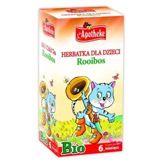 Apotheke Herbatka dla dzieci Rooibos, Bio, powyżej 6 miesiaca, 1,5 g x 20 saszetek - zdjęcie produktu