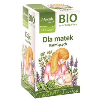 Apotheke, herbatka dla matek karmiących BIO, 20 saszetek - zdjęcie produktu