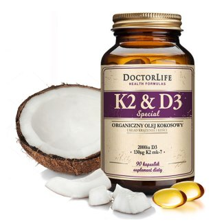 Doctor Life K2 &D3 Special, 90 kapsułek - zdjęcie produktu