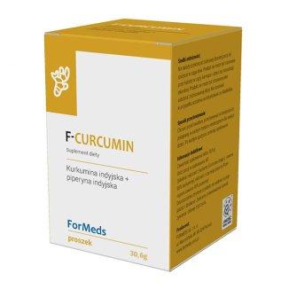 ForMeds F-Curcumin, proszek, 30,6 g KRÓTKA DATA - zdjęcie produktu
