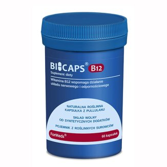 ForMeds Bicaps B12, 60 kapsułek - zdjęcie produktu