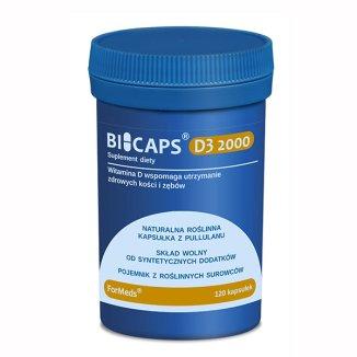 ForMeds Bicaps D3 2000, 120 kapsułek - zdjęcie produktu