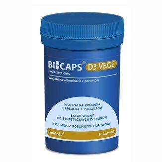 ForMeds, Bicaps D3 Vege, 60 kapsułek - zdjęcie produktu