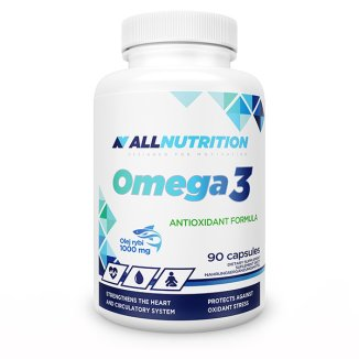 Allnutrition Omega 3, olej rybi 1000 mg, 90 kapsułek - zdjęcie produktu
