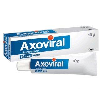 Axoviral 50 mg/ g, krem, 10 g - zdjęcie produktu
