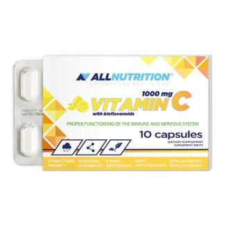 Allnutrition Vitamin C 1000 mg, 10 kapsułek - zdjęcie produktu
