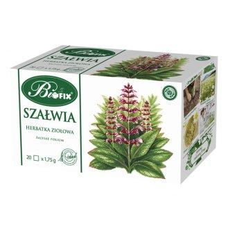 Bi Fix Szałwia, herbatka ziołowa, 1,75 g x 20 saszetek - zdjęcie produktu