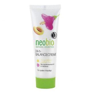 NeoBio, krem do twarzy na dzień i na noc, olej z pestek moreli i hibiskus, 50 ml - zdjęcie produktu