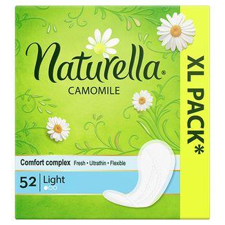 Wkładki higieniczne Naturella, Light, rumianek, 52 sztuki - zdjęcie produktu