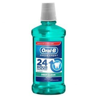 Oral-B Pro-Expert, płyn do płukania jamy ustnej, Deep Clean, Mild Mint, 500 ml - zdjęcie produktu